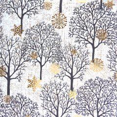Lahjapaperi Fall Trees White, FSC
