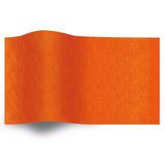 Silkespapper Enfärgat Orange