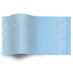 Silkespapper Enfärgat Pacific Blue