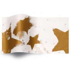 Silkespapper Metall Guld/Silver fest