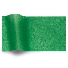 Silkespapper vaxat Kelly Green