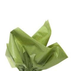 Silkkipaperi moss green 14g
