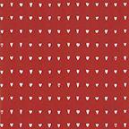 Lahjapaperi Hjärtan, punainen