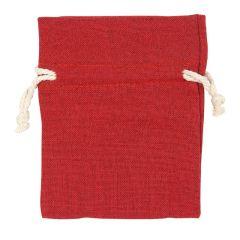 Puuvillapussi, punainen