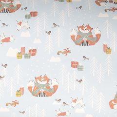 Lahjapaperi Knitted Fox, FSC