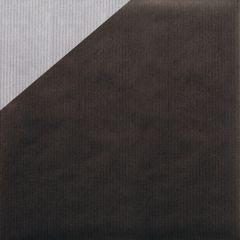 Lahjapaperi Musta/hopea, riplattu