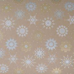 Lahjapaperi Crystal Snowflakes, FSC