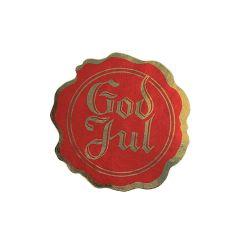 Tarra Sinetti God Jul, punainen/kulta