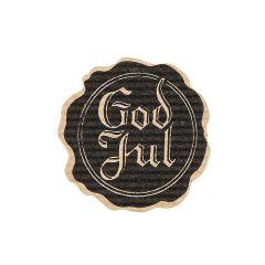 Tarra Sinetti God Jul, musta/ruskea riplattu