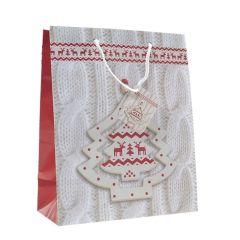 Lahjakassi Christmas Tree White
