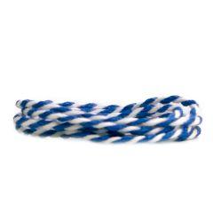 Puuvillanyöri, sininen/valkoinen