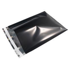 Postituspussi Metallic, musta