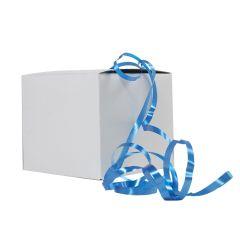 Muovinauha laatikossa, sininen