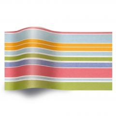 Silkkipaperi Island Stripes